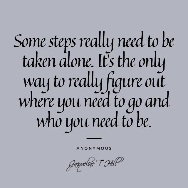 Comment apprendre à être seul et heureux 3