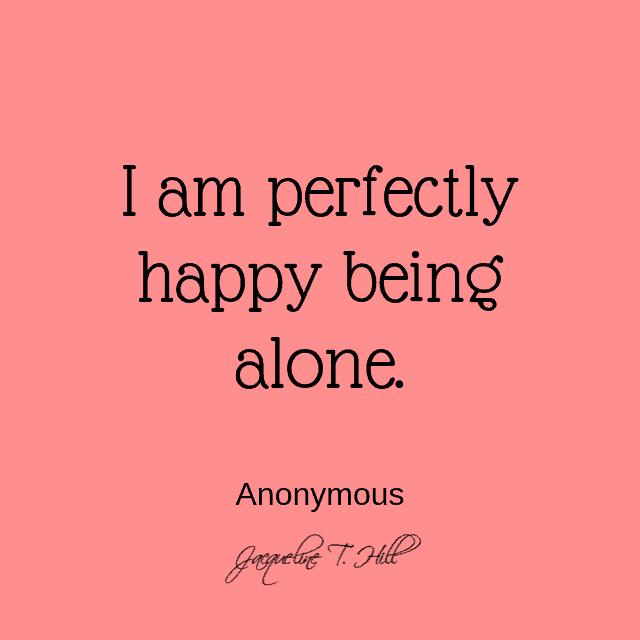 Comment apprendre à être seul et heureux 1