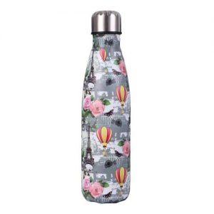 Gourde inox sans BPA en acier inoxydable (Tour Eiffel 500 ml)
