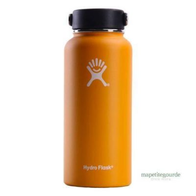 Gourde inox en acier inoxydable Hydro Flask Orange
