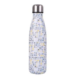 Gourde inox sans BPA en acier inoxydable flèche (flèche 500 ml)