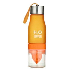 Gourde H2O avec infusion (Orange 650 ml)