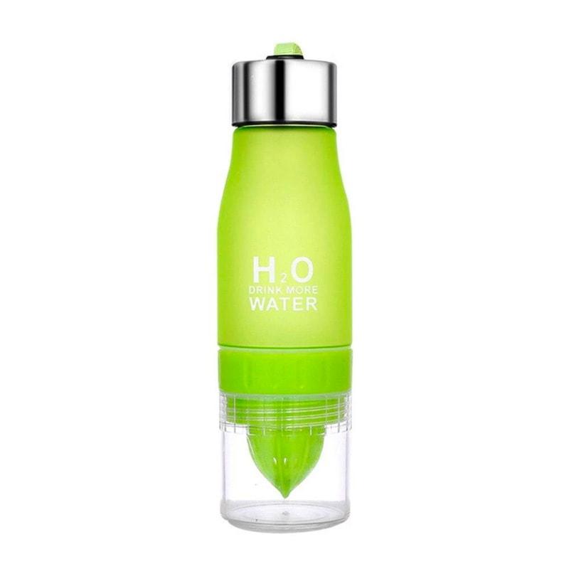 Gourde H2O avec infusion (Vert 650 ml)