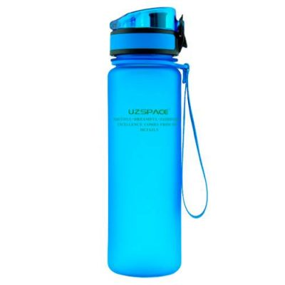Gourde Sans BPA Uzspace bleu