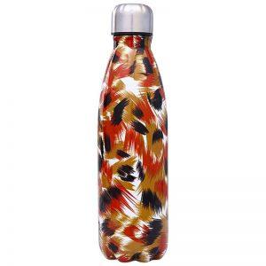 Gourde inox isotherme sans BPA réutilisable (Automne 500 ml)