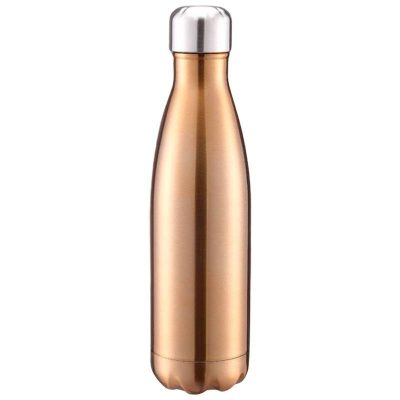 Gourde inox isotherme sans BPA réutilisable (Or 500 ml)