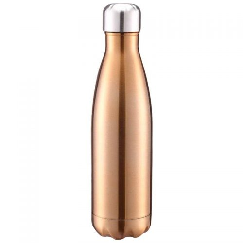 Gourde inox isotherme sans BPA réutilisable (Or 500 ml)