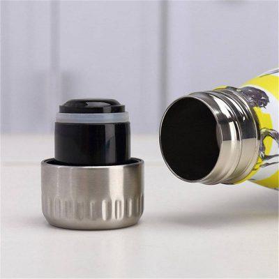 Gourde inox isotherme sans BPA réutilisable bouchon