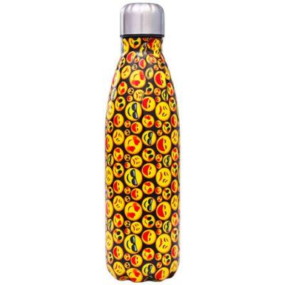 Gourde inox isotherme sans BPA réutilisable (Emojis 500 ml)