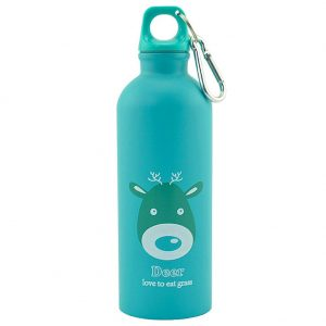 Gourde inox pour enfant 500 ml (Vert Cerf)