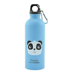 Gourde inox pour enfant 500 ml (Bleu Panda)