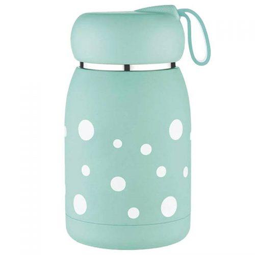 Petite gourde inox pour enfant (Vert d'eau 330 ml)