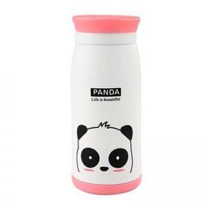 Petite gourde inox pour enfant (Blanc Panda 350 ml)