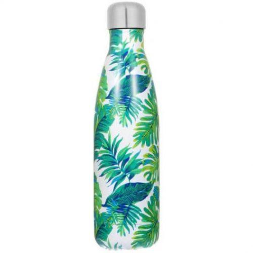 Gourde inox isotherme sans BPA réutilisable (Feuille Banane 500 ml)