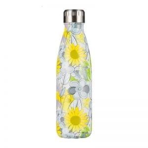 Gourde inox isotherme sans BPA réutilisable (Marguerite 500 ml)