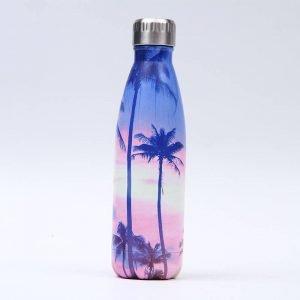 Gourde inox isotherme sans BPA réutilisable (Miami Beach 500 ml)