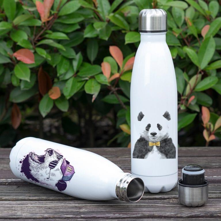Gourde inox isotherme sans BPA réutilisable