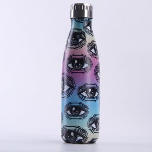 Gourde inox isotherme sans BPA (Oeil 500 ml)