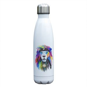 Gourde inox en acier inoxydable (Lion 500 ml)