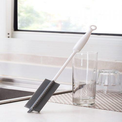 Brosse de nettoyage en silicone
