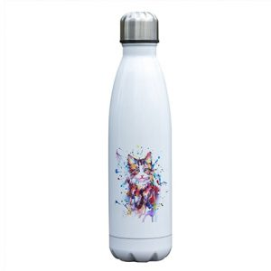 Gourde inox isotherme sans BPA Chat (Chat 500 ml)