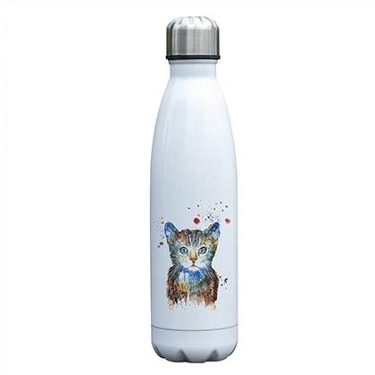 Gourde inox isotherme sans BPA Chat