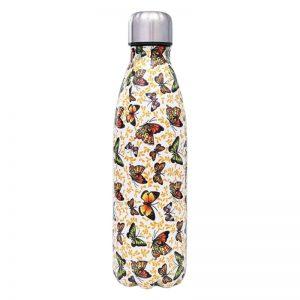 Gourde inox sans BPA réutilisable (Papillon 500 ml)
