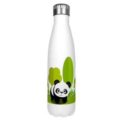 Gourde inox isotherme Panda Arbre 500 ml